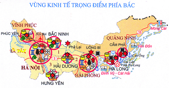 развитие северного ключевого экономического раиона вьетнама за прошедшие 20 лет hinh 0