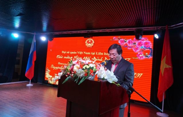 посольство срв в рф устроило прием в честь нового года по лунному календарю hinh 0