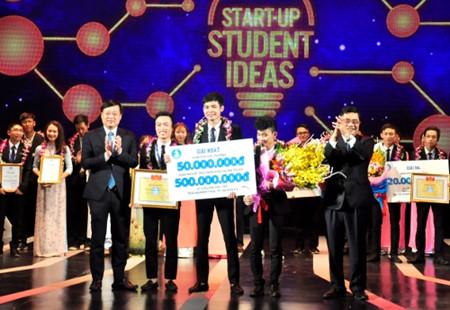 в ханое награждены победители конкурса студенческих стартап-проектов hinh 0