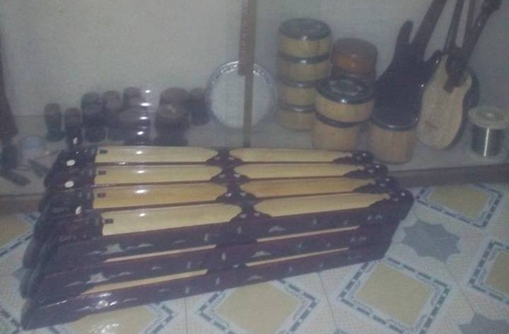 деревня по производству музыкальных инструментов даоса, где хранятся мелодии вьетнамскои души hinh 1