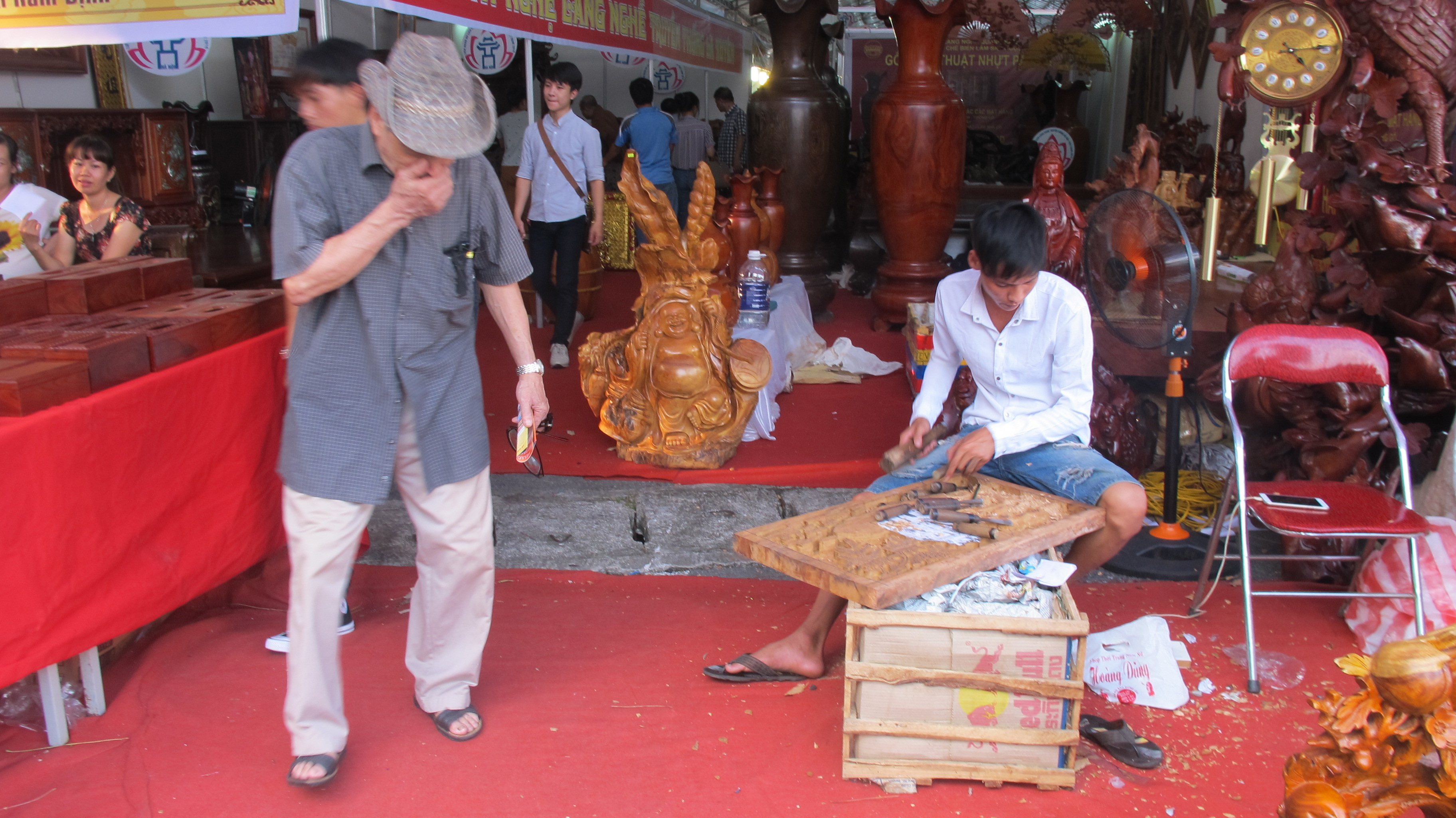 vietnam traditional craft village tourism festival 2016 at thang long imperial citadel  hinh 10