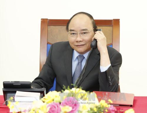 entretien telephonique nguyen xuan phuc – hwang kyo-ahn hinh 0