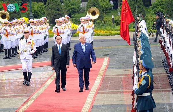 tran dai quang: la cooperation vietnam-israel tourne la page hinh 0