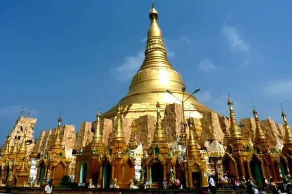 វតត shwedagon, ទរពយសមបតដរបស yangon hinh 0