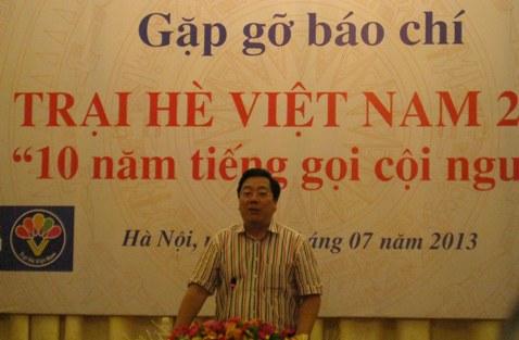 """trai he viet nam lan thu 10 cho thanh, thieu nien kieu bao voi chu de """"10 nam tieng goi coi nguon"""" hinh 0"""