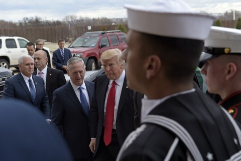 Donald Trump signs executive order to rebuild military