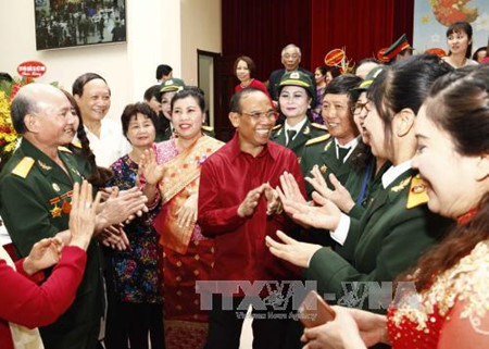 laos embassy celebrates bun pi may festival in hanoi hinh 0