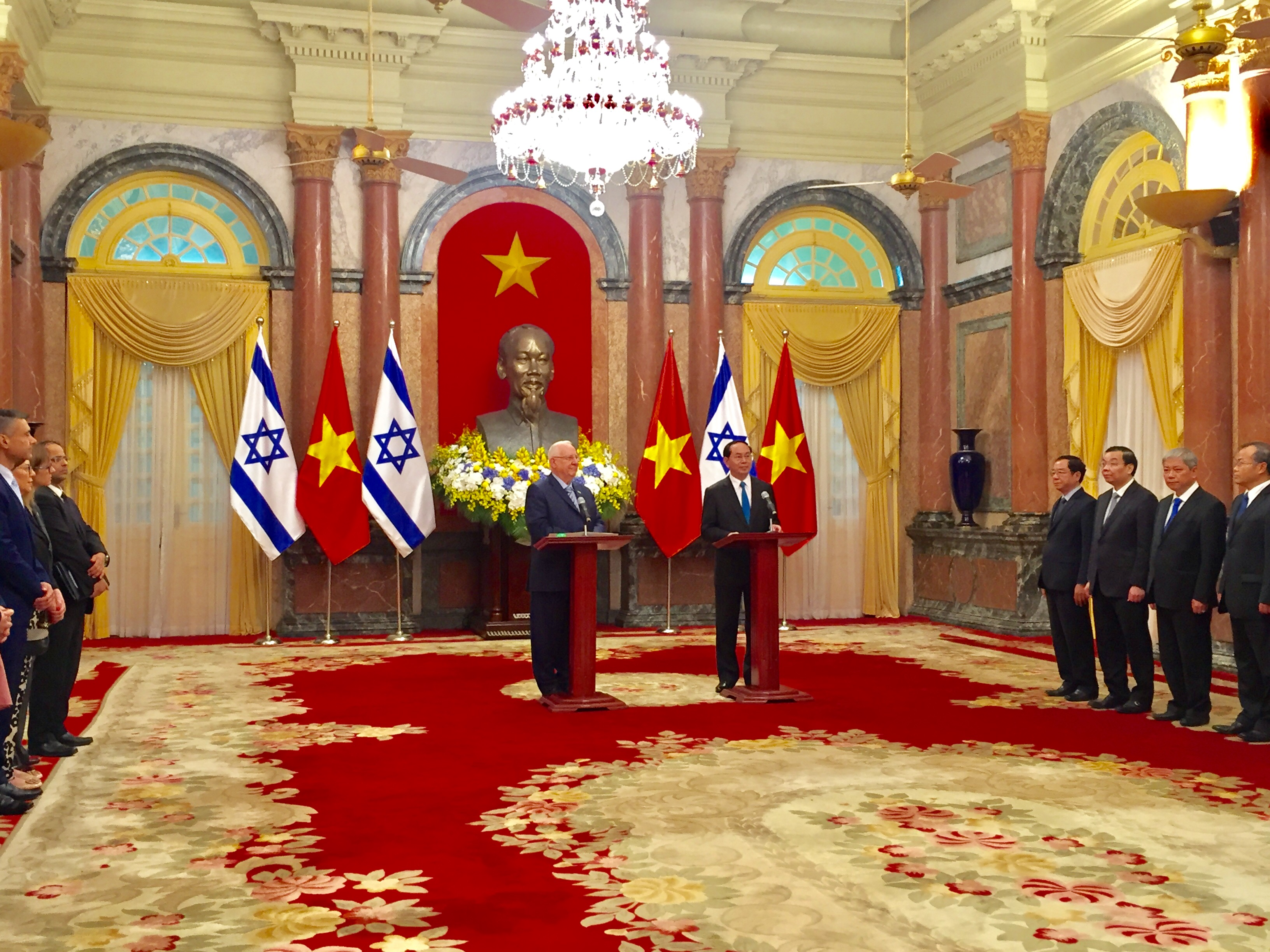 вьетнам и израиль отдают приоритет экономическому и научно-технологическому сотрудничеству hinh 2