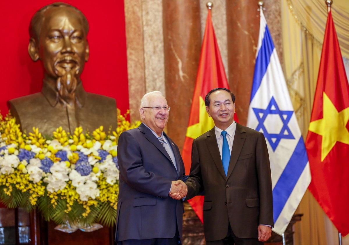 вьетнам и израиль отдают приоритет экономическому и научно-технологическому сотрудничеству hinh 0