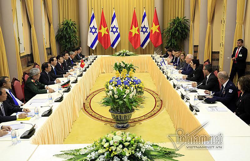 вьетнам и израиль отдают приоритет экономическому и научно-технологическому сотрудничеству hinh 1
