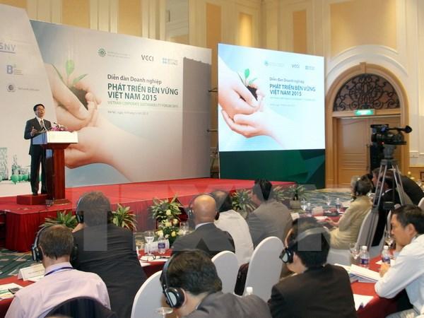 Forum des entreprises pour le d veloppement durable du for Chambre de commerce vietnam