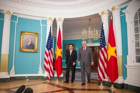 deputi pm, menlu vietnam, pham binh minh melakukan kunjungan resmi di as hinh 0