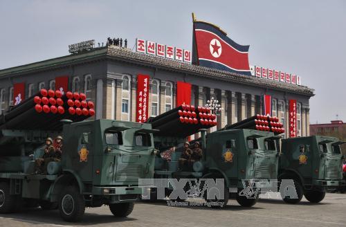朝鲜半岛紧张局势升级 hinh 0
