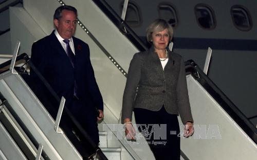 UK Prime Minister visits India