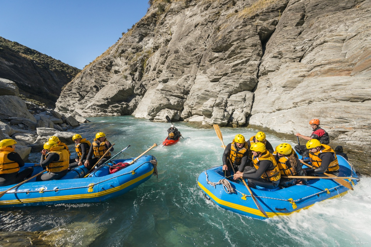 New Zealand water rafting – adventurous in the most exciting way