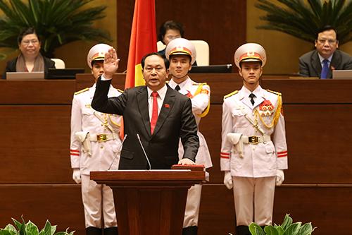 general tran dai quang ist zum staatsprasident gewahlt worden hinh 0