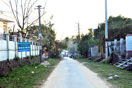 Co To island obtains new rural development targets Village life
