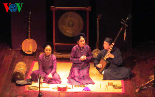 Concert of traditional Vietnamese music Culture