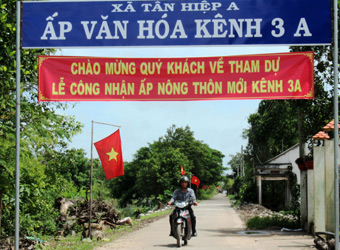 Kien Giang's new rural development goes hand in hand with environmental protection Village life