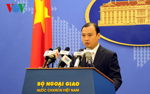 Vietnamese Foreign Ministry spokesman: Chinese construction of islands in Truong Sa illegal News