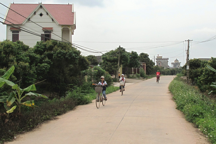 People's consensus contributes to new rural development in Hiep Hoa, Bac Ninh Village life
