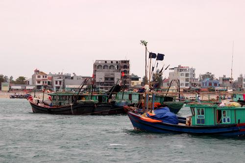 Launching Tonkin Gulf Fishing Logistics Service Center on Co To island