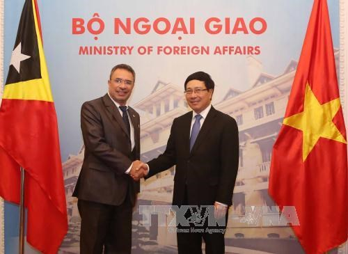 East Timor's Minister of Foreign Affairs and Cooperation visits Vietnam
