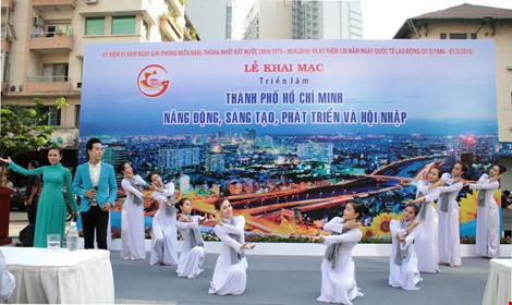 Photo exhibition of Ho Chi Minh City's dynamism, creativity, development