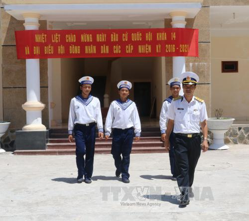 Truong Sa island district prepares for voting day