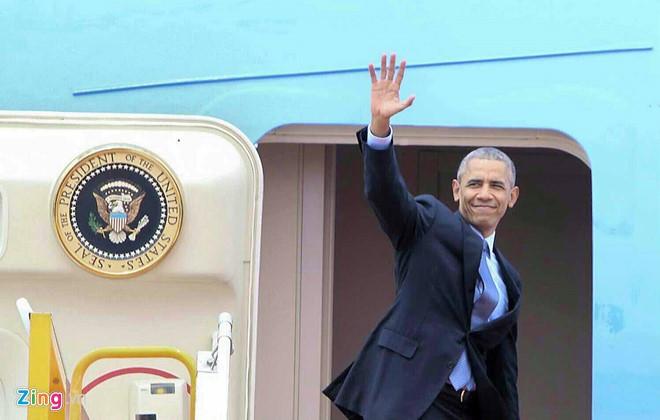 US President Barack Obama concludes Vietnam visit