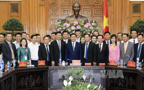 Deputy Prime Minister Vuong Dinh Hue attends 1st Vietnam Private Economic Forum