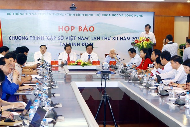 Nobel prize winners come to Binh Dinh