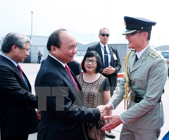Prime MInister Nguyen Xuan Phuc wraps up his official visit to China