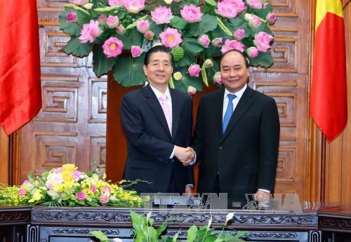 PM receives Chinese Minister of Public Security, Deputy Chief of Indonesia's National Police