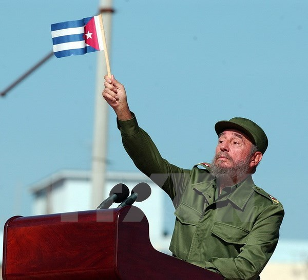 Farewell to President Fidel Castro: symbol of Cuban revolution