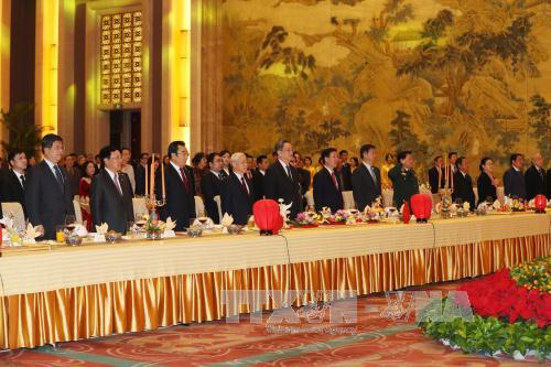 Party General Secretary Nguyen Phu Trong continues his official visit to China