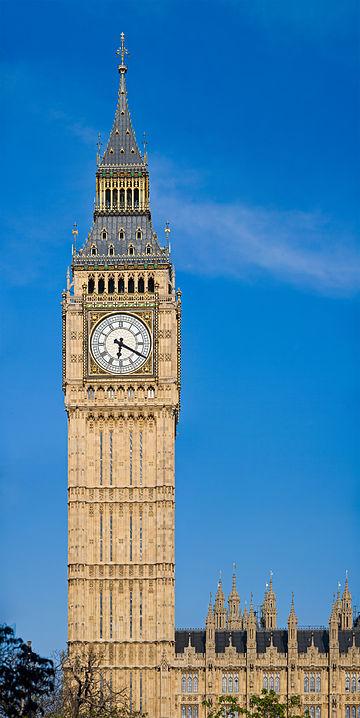 repair work underway on london's iconic big ben tower hinh 0