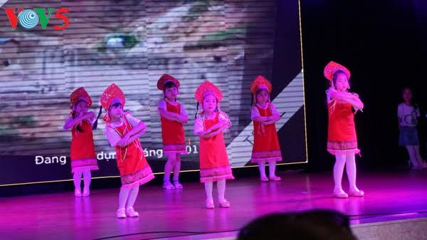 Vietnamese community in Moscow held art performance