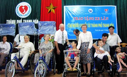 esfuerzos comunes para integrar a los discapacitados a la sociedad vietnamita hinh 0