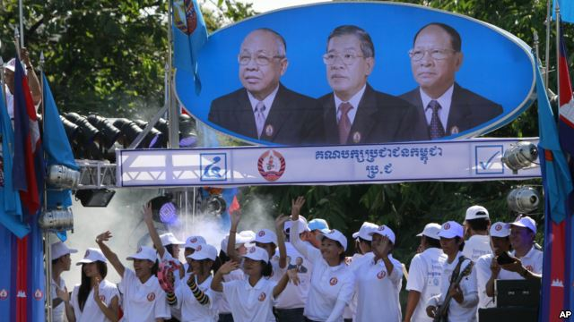 pemilu parlemen kamboja - 2013 :  kartu suara untuk kestabilan hinh 0