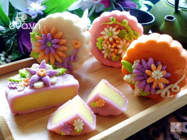 vietnamese traditional snow skin mooncake hinh 4