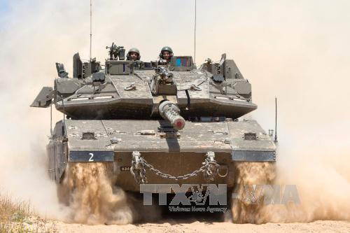 Israeli army holds large-scale exercise near the Gaza strip