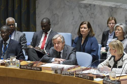 un secretary general calls for new efforts to build and sustain peace hinh 0