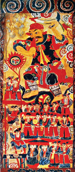 worship paintings of vietnam's northern ethnic groups hinh 5